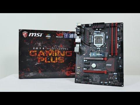 รีวิว MSI Z270 Gaming Plus ดิบ ดุ ดัน เพื่อสายดำ-แดง