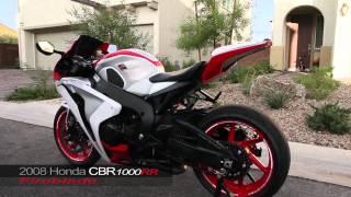 PART 2 - 2008 Honda CBR 1000RR Fireblade Custom Paint RC51 SP1 Wheels FMF Apex Exhaust