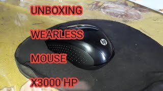 How to Set Up Wireless Mouse X3000? HP wireless X3000 mouse Unboxing and Review