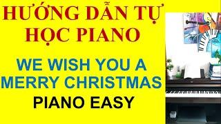Hướng dẫn We wish you a Merry Christmas Piano