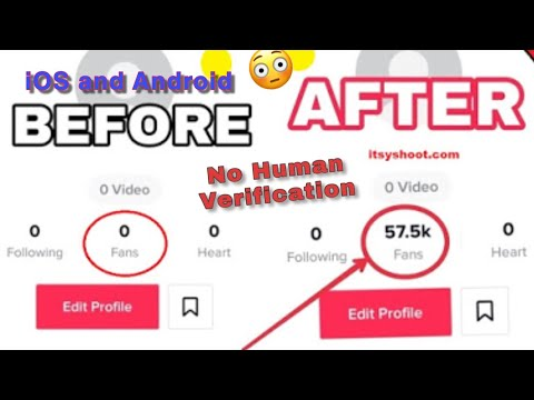 How To Get Unlimited TikTok Fans No Human Verification (IOS And Android)