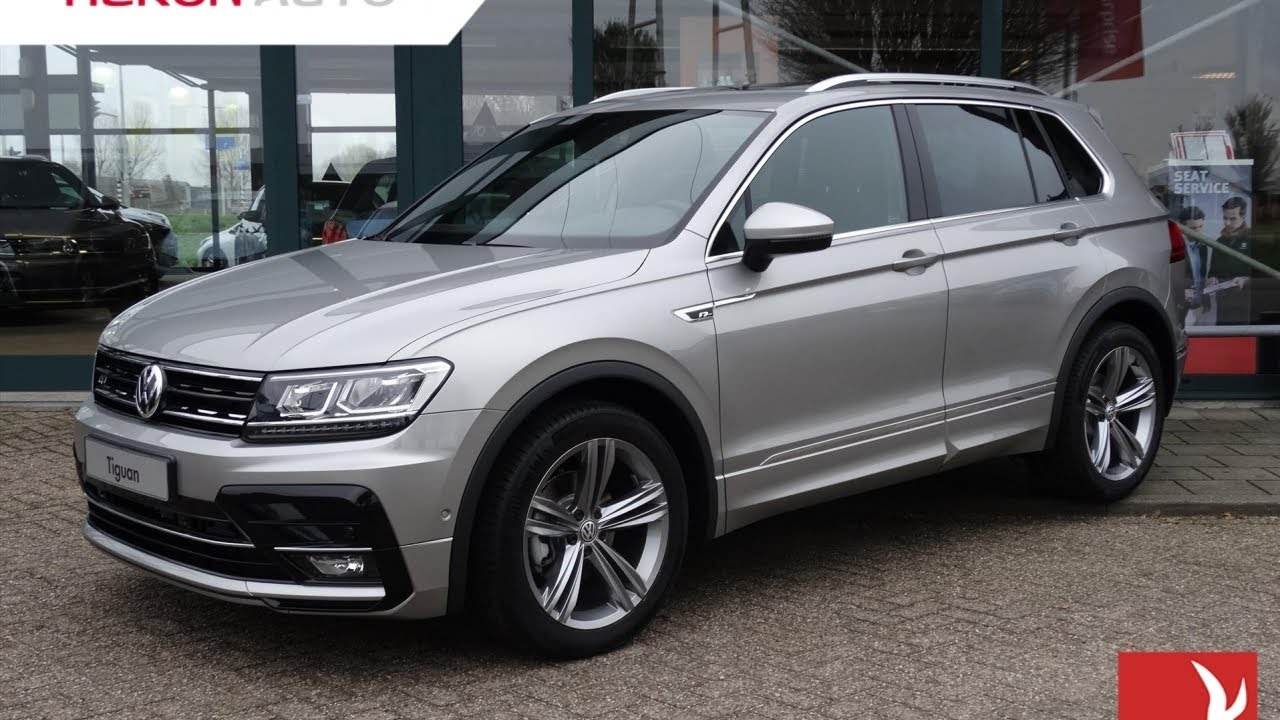 volkswagen tiguan 1 4 tsi act 150pk comfortline business r line panorama dak youtube. Black Bedroom Furniture Sets. Home Design Ideas