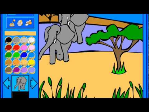 Coloring Pages | Wild Nature Coloring