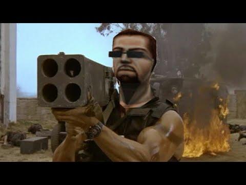 Commando but with Half Life SFX