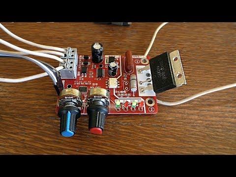 Контроллер для точечной (контактной) сварки