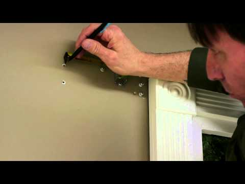 How to Hang a Curtain Rod to Make a Window Look Larger : Curtains & Window Decor