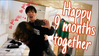 How Korean Boyfriend Celebrates Anniversary | 기념일에 이탈리아 여친 놀래켜주기