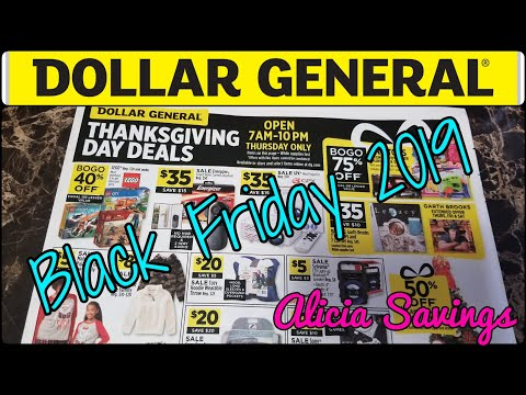 Black Friday Ad 2019 | Dollar General Black Friday Ad 2019 Thanksgiving Day Sale Ad Preview