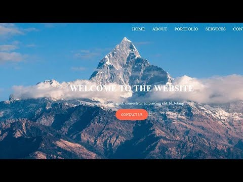 Full-Screen Owl Carousel Slider with Menu | JQuery Plugin Tutorial | Bootstrap Carousel Alternative