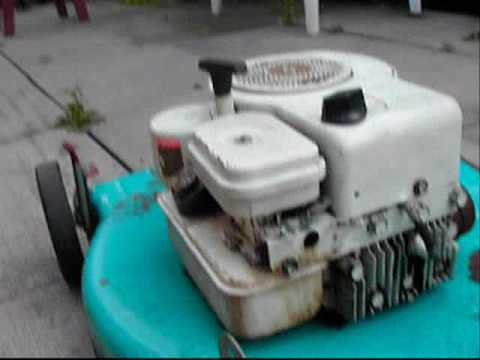 Trash Picked Briggs And Stratton 3 5hp Lawnmower