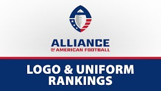 AAF Logo and Uniform Rankings