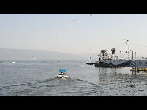A FULL Sea Of Galilee! LIVE