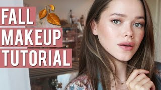EASY FALL MAKEUP TUTORIAL | ft. Charlotte Tilbury Pillow Talk Collection