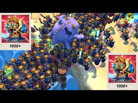 Royal Revolt 2 | ONLY MAX LEVEL KNIGHTS Gameplay | Ninja | RR2 GURUJI