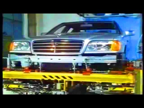 Mercedes w140 development #w140