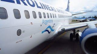 Aerolineas Argentinas Boeing 737-700 Buenos Aires-São Paulo