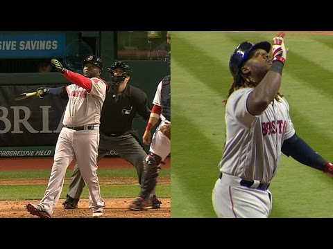 BOS@CLE: Ortiz and Ramirez go back-to-back in the 6th