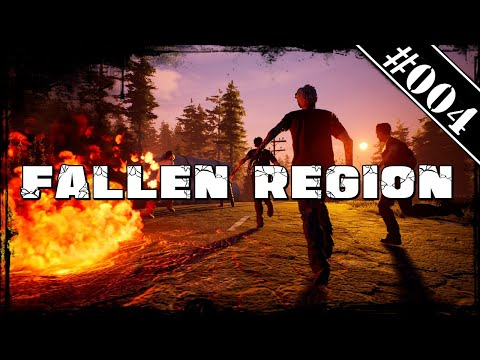 Fallen Region #004🧟‍♂️ Lager Erweiterung 🧟‍♂️ | Deutsch German Gameplay Review |