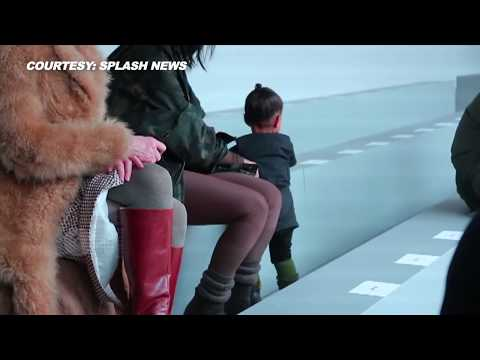 (VIDEO) North West DRAMATIC Paris Fashion Week Moments