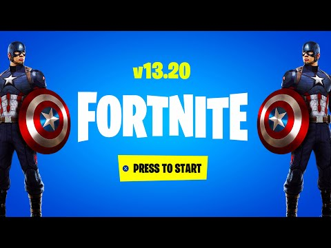 FORTNITE X CAPTAIN AMERICA! (NEW UPDATE)