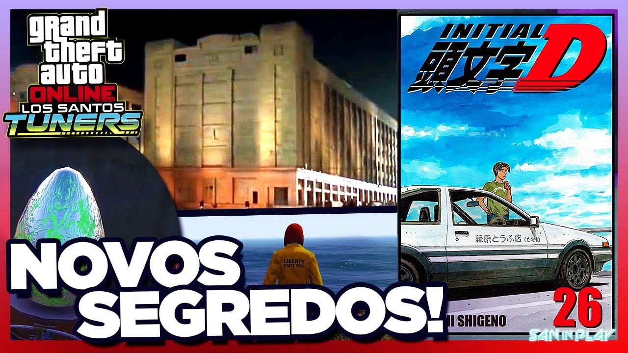 EASTER EGGS e SEGREDOS OCULTOS na NOVA DLC do GTA Online! - DLC Los Santos Tuners