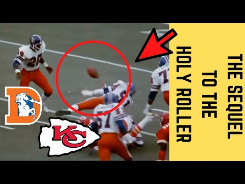 [OC] [Highlight] After the 1978 season, following the infamous Holy Roller play, the rulebook was changed to prevent anything like that from ever happening again. In 1979, in a game between the Broncos and Chiefs, it happened again. This is the story behind the lesser-known Holy Roller 2