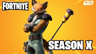 Fortnite with frecan skin Fennix