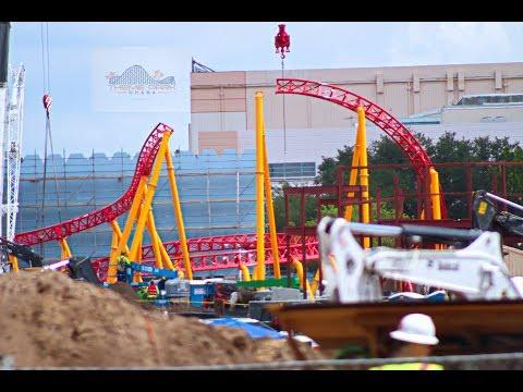 Toy Story Land Update Walt Disney World Orlando Slinky Coaster revealed