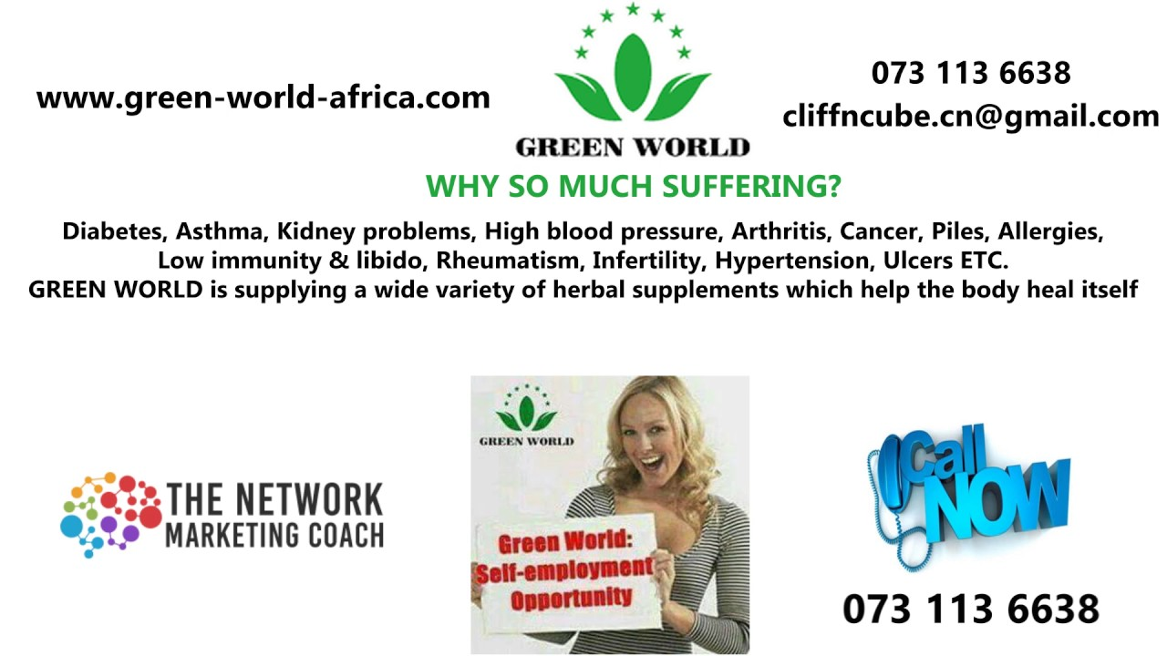 Green World Herbal Products 2 0 Youtube