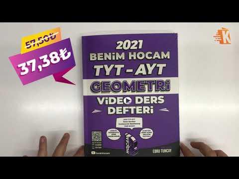 Geometriye Fulleten 8 Haftalık TYT Geometri Kampı - Ebru TUNCAY