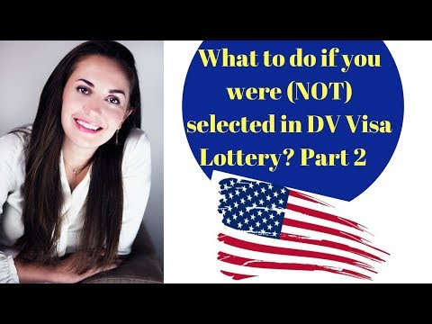 WHAT TO DO IF YOU WERE SELECTED IN DV VISA LOTTERY🇺🇸