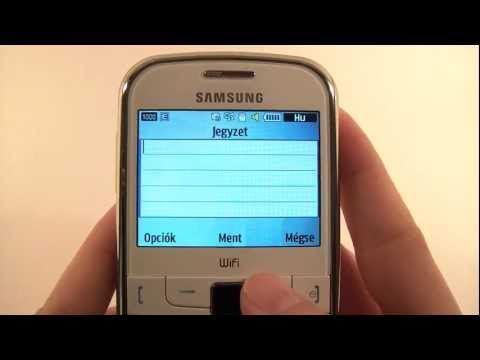 Samsung S3350 Ch@t 335 Hands-on