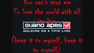 Guano Apes - You can´t stop Me (Lyrics)