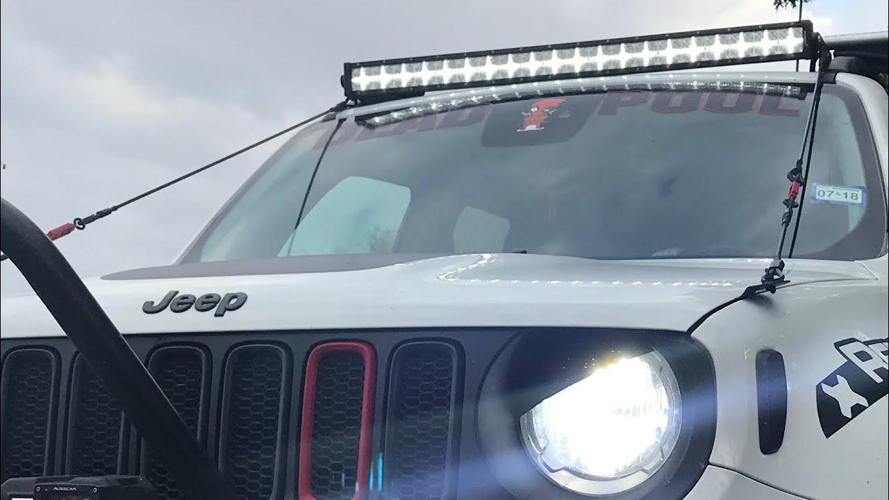Wiring Harness Install For Jeep Renegade Not Lossing Diagram Tv Lightbar Installation Youtube Rh Com Cen Tech