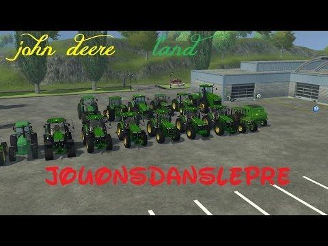 Farming Simulator 2013  Présentation De Mods John Deere (john Deere Land)