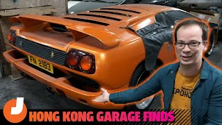 homepage tile video photo for Check Out The Amazing Abandoned Cars In This Random Hong Kong Parking Garage | Jalopnik