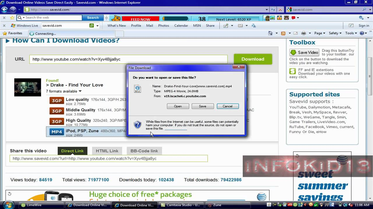 How To Put Videos On Zune How To Download Youtube