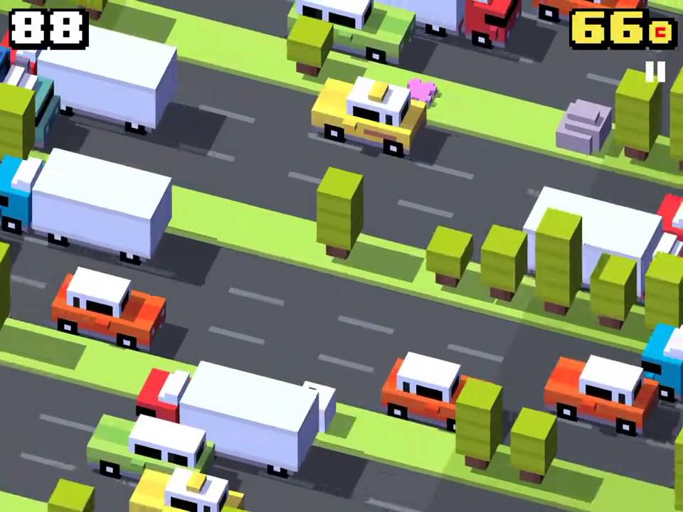 CROSSY ROAD- Forget Me Not Ghost Easter Egg - YouTube