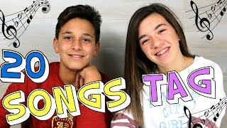 Repeat youtube video 20 SONGS TAG CON MI PRIMO LUIS | Kitty Sweety
