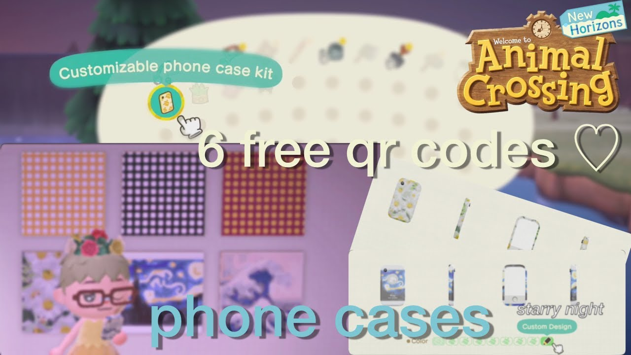 Animal Crossing New Horizons Free Catalogue Qr Codes