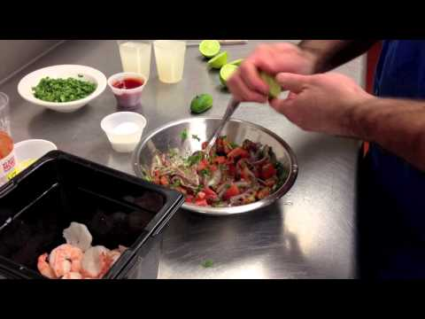 Shrimp Ceviche Recipe by Chef Pat Marone