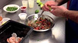 shrimp ceviche recipe by chef pat marone