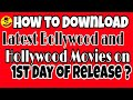 😱How to Download Latest Bollywood and Hollywood Movies on 1st Day of Release By TricksWala!