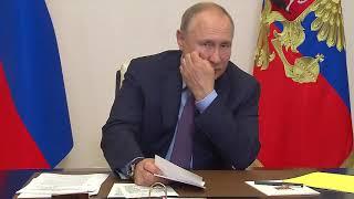 Совещание с членами Правительства и руководством партии «Единая Россия»  Владимир Путин