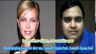 Karaoke tujhe jeevan ki door se bandh liya hai only for male