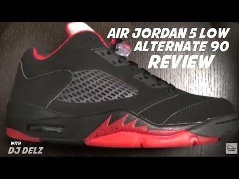 new style 61111 816e5 Air Jordan 5 Low Alternate 90 Sneaker Review