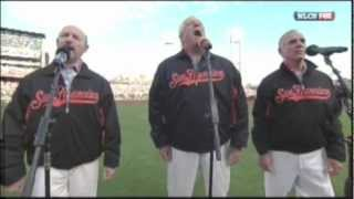 The Kingston Trio Sing the National Anthem 10/21/12