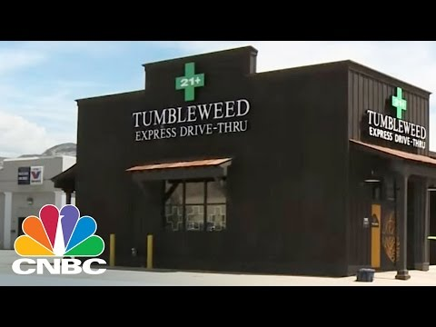 First Drive-Thru Marijuana Shop In The Nation Opens In Colorado | CNBC