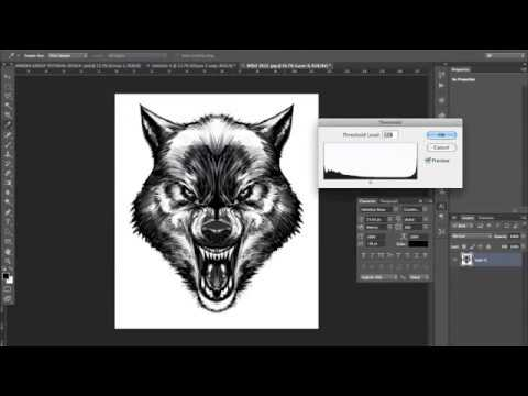 How To Design a T-shirt Graphic Using Photoshop - Photoshop Tutorial
