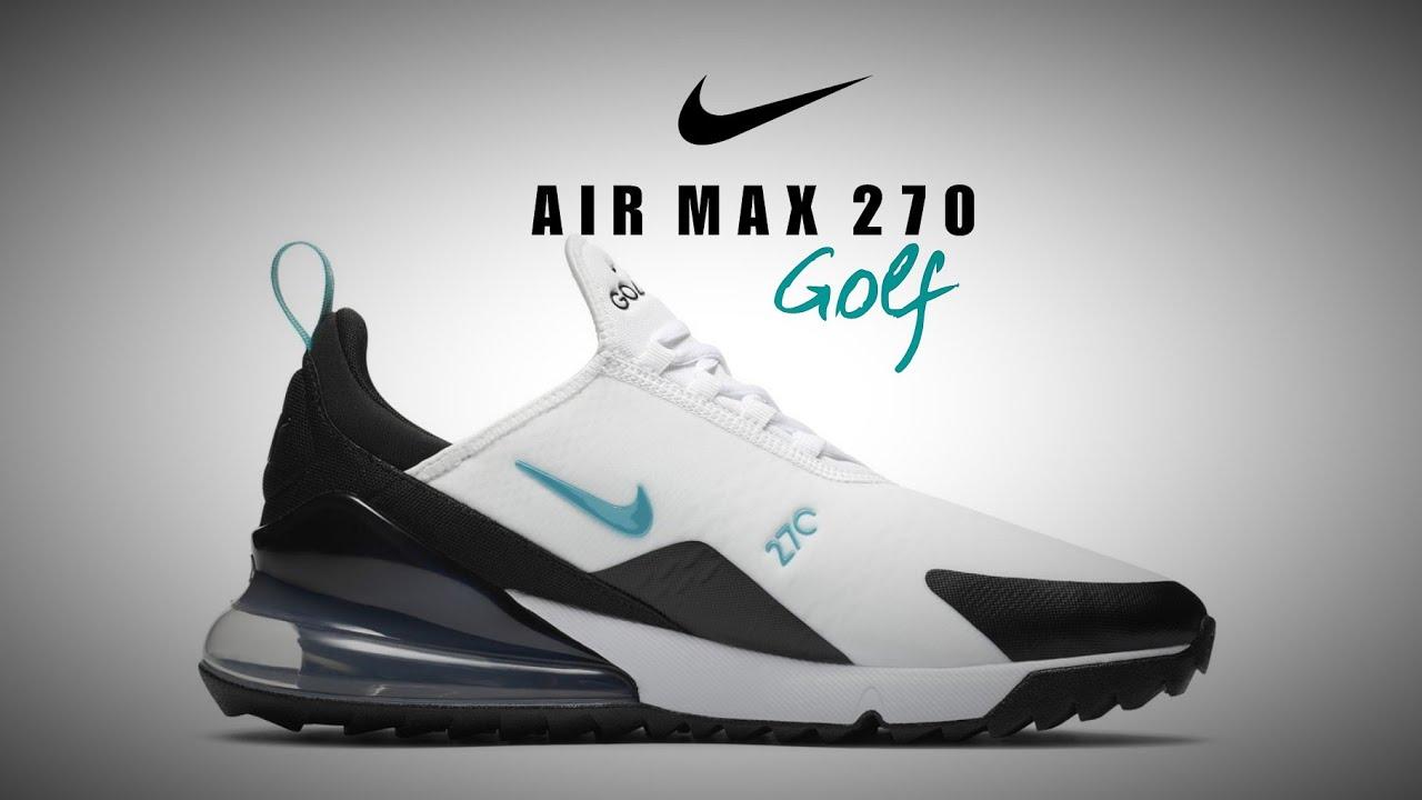Nike Air Max 270 G 2020 Detailed Look Golf270 Youtube